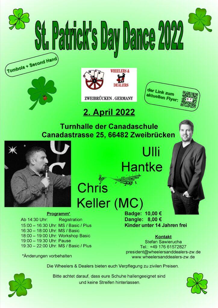 Flyer St. Patrick's Day 2022 Seite 1