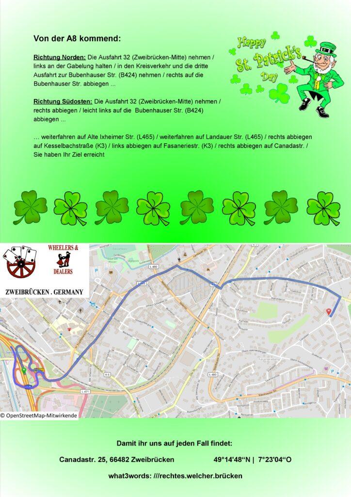 Flyer St. Patrick's Day 2022 Seite 2